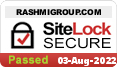 RASHMIGROUP.COM protected by SiteLock