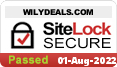 WilyDeals.com is verified by SiteLock as a safe site!