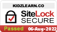 SiteLock for Kidz Learn Appl