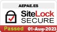 Seguridad de la página AEPAE