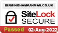 Website security by sitelock