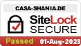 Sitelock-geprüfte Sicherheit