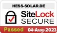 Homepage-Sicherheit von Luftkollektorshop hess-solar.de
