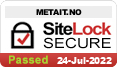 Meta IT SiteLock - metait.no