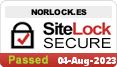 Seguridad de la página web