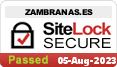 Seguridad de la página principal